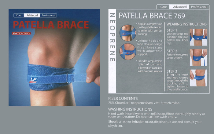 LP Patella bandage